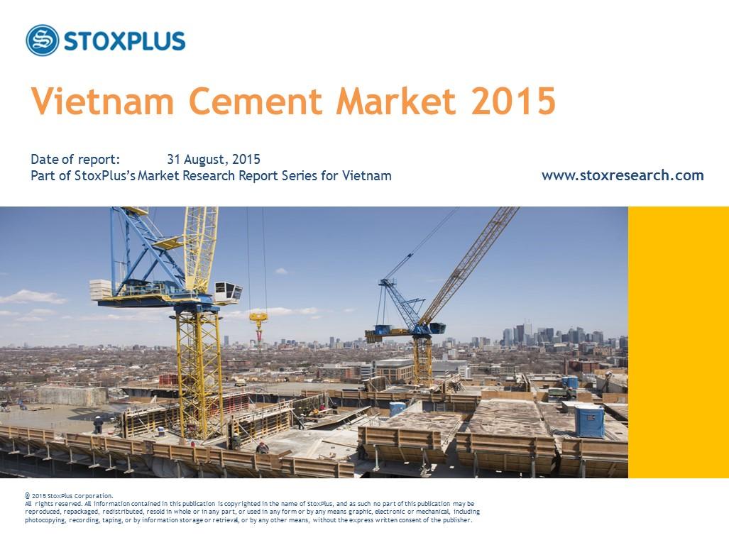 Vietnam Cement Market Report 2015
