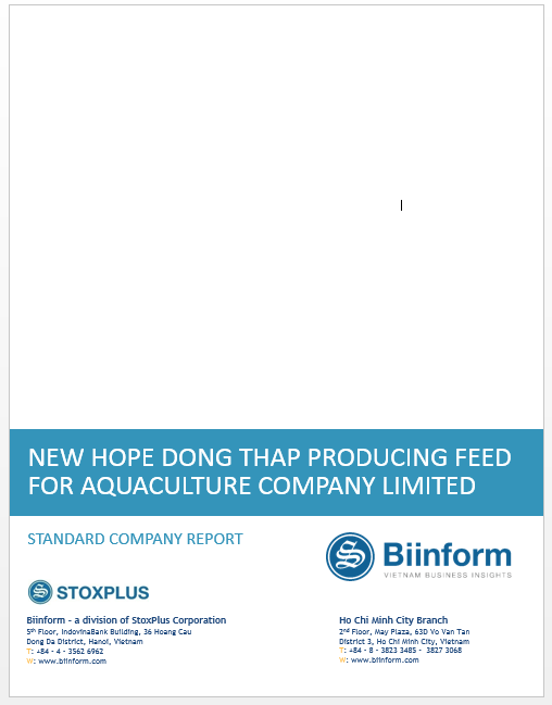 Biinform - SCR - NEW HOPE DONG THAP PRODUCING FEED
