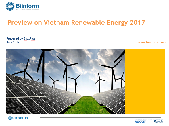 Preview on Vietnam Renewable Energy 2017