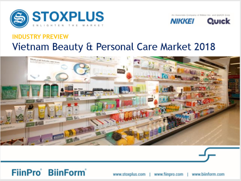 Vietnam Beauty and Personal Care Market Preview 2018
